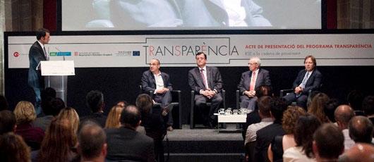Presentació projecte Transparència