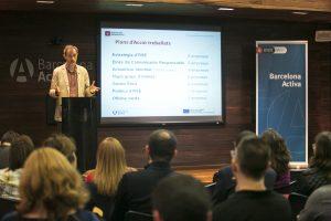 Acte de Cloenda del projecte Empreses Responsables de BcnActiva