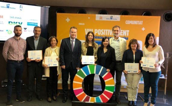 Vuit empreses reben la distinció Empresa Positiva 2019 pel seu compromís amb el territori